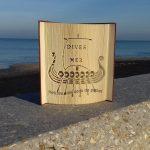 Livre commandé et offert à Mr le maire de Dives sur Mer. A ce jour ce livre trône sur son bureau et c'est un très grand honneur