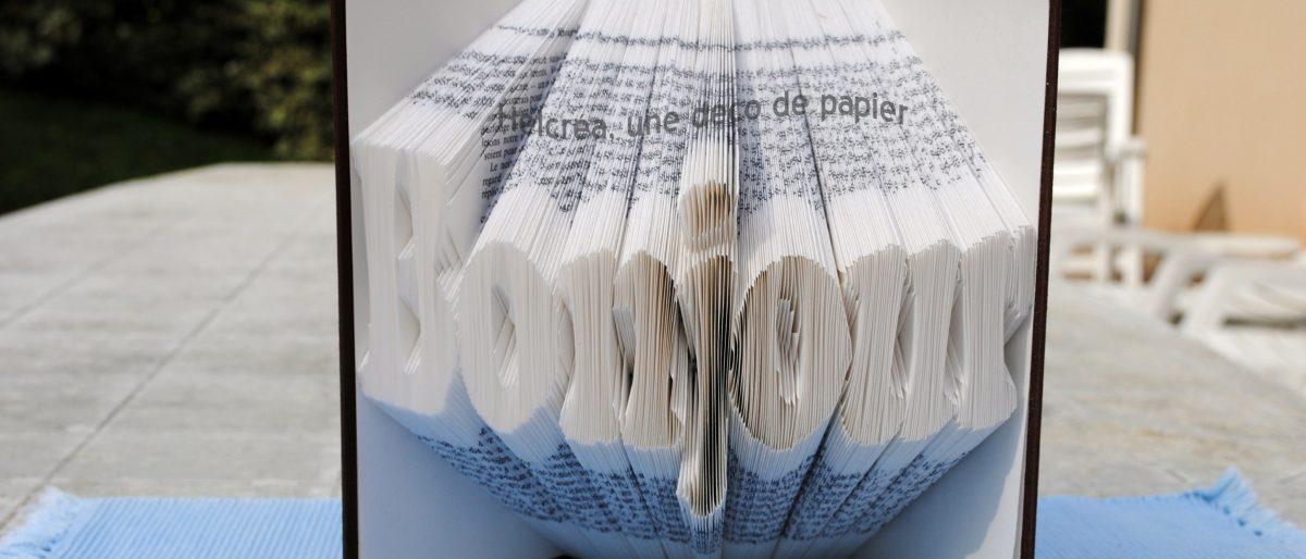 Permalien vers:Livres pliés